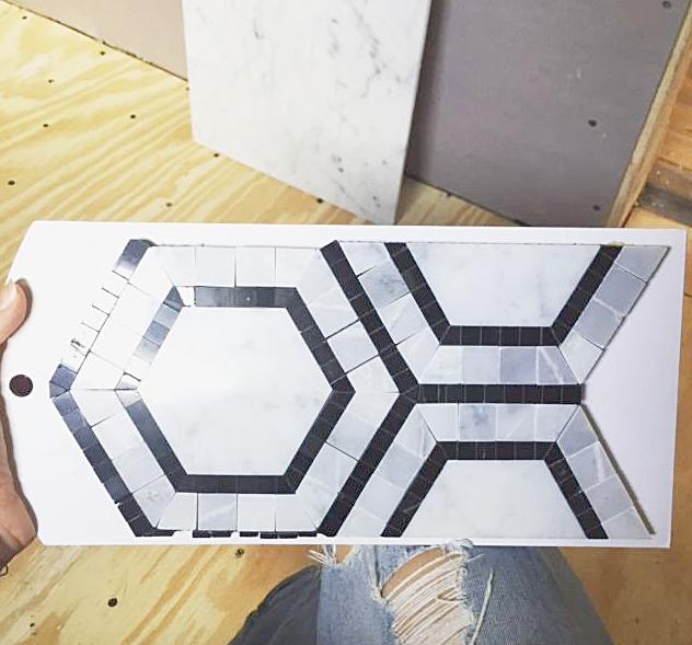 The tile sample