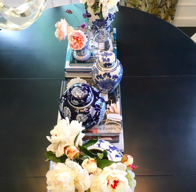 My collection of blue Chinoiserie pots