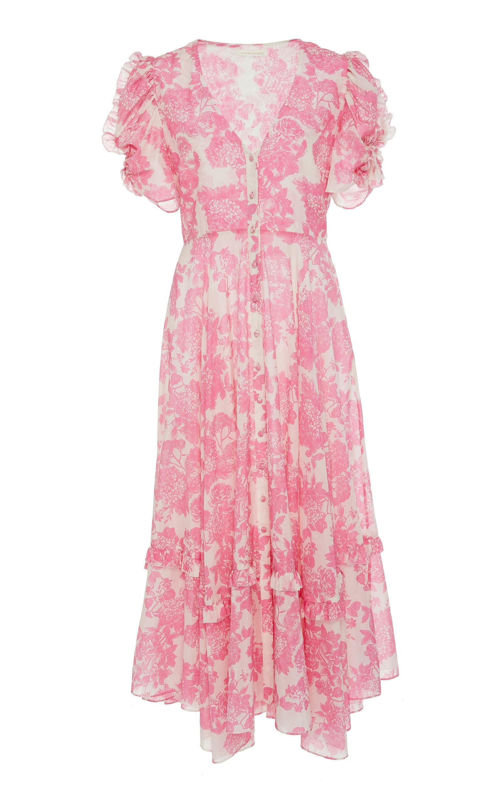 LoveShackFancy Andie Floral print dress