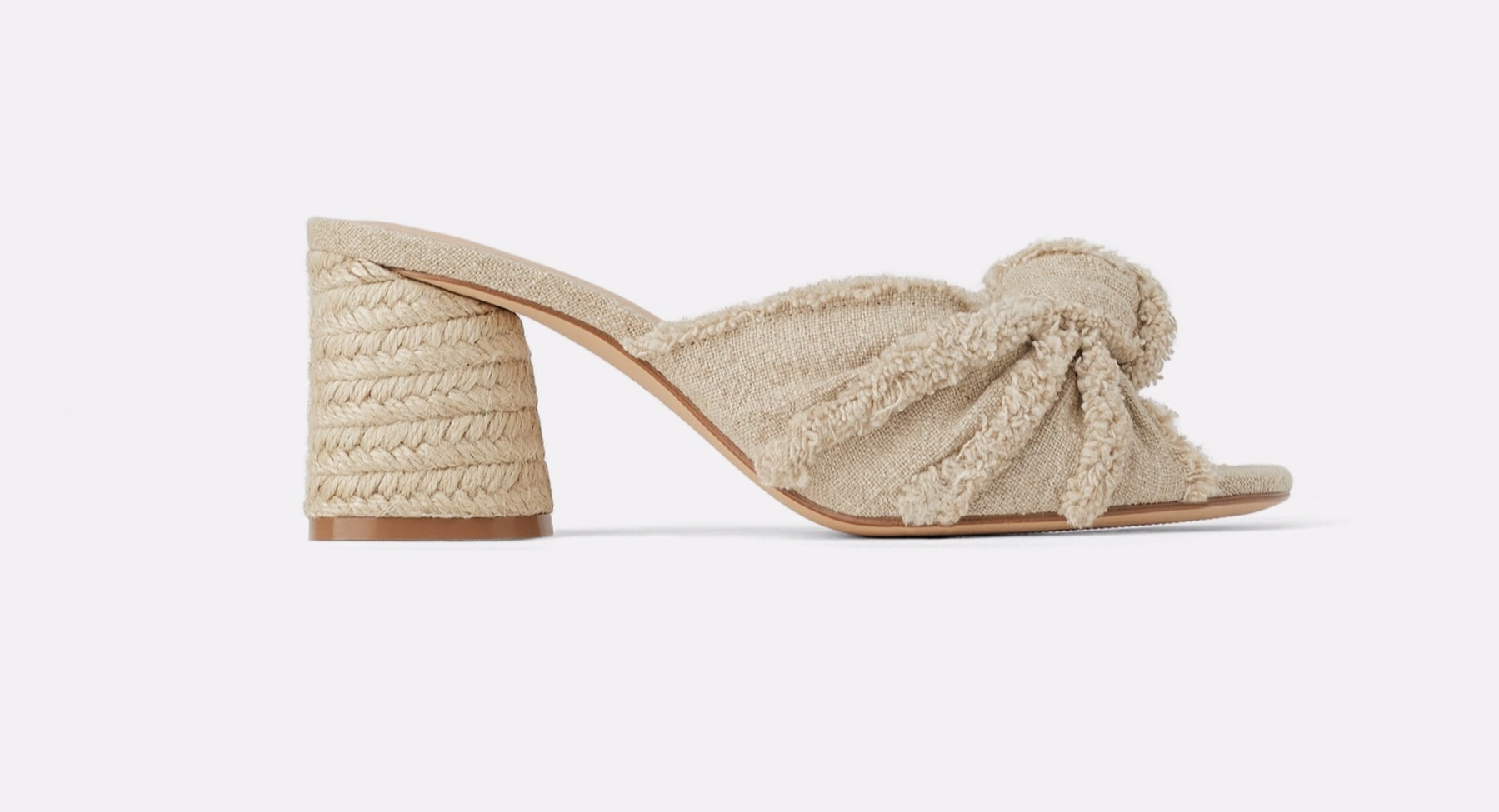 Zara knotted mules