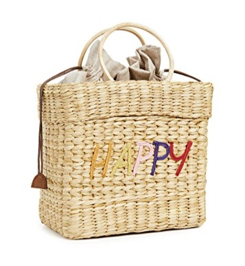 Poolside Happy beach tote