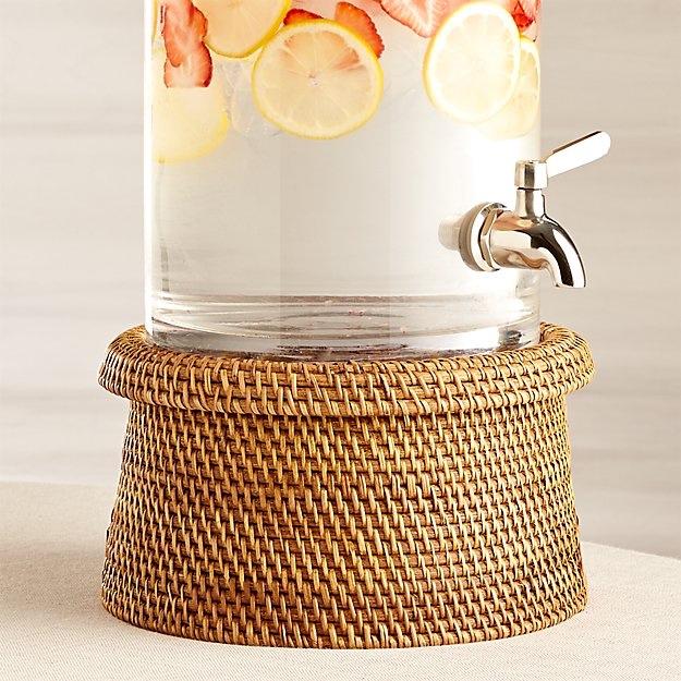Crate & Barrel drink dispenser