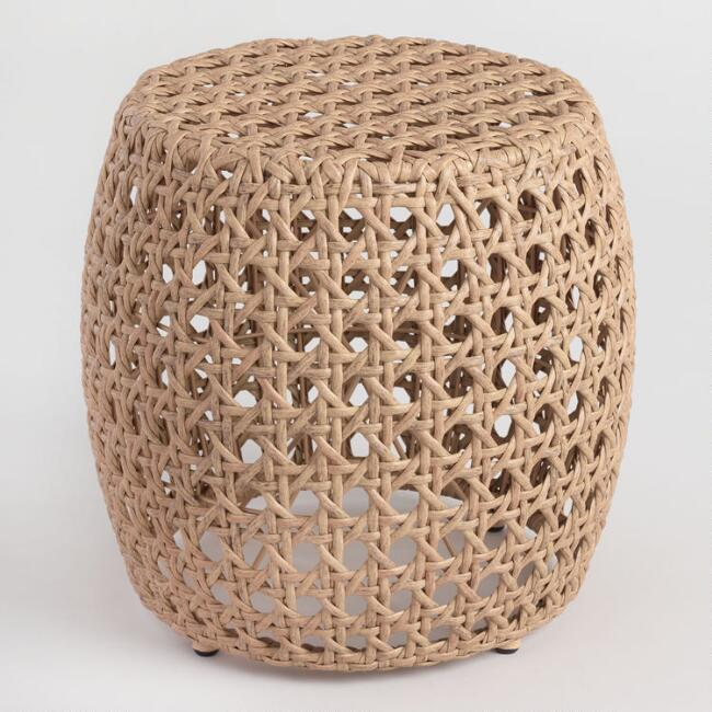 World Marker outdoor accent stool