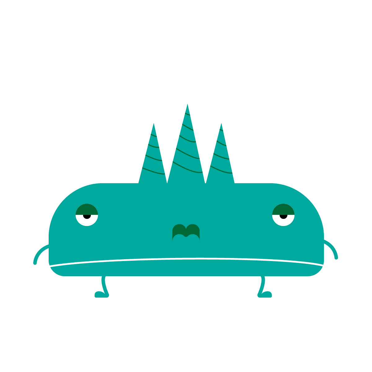 Alien #2 made with Illustrator