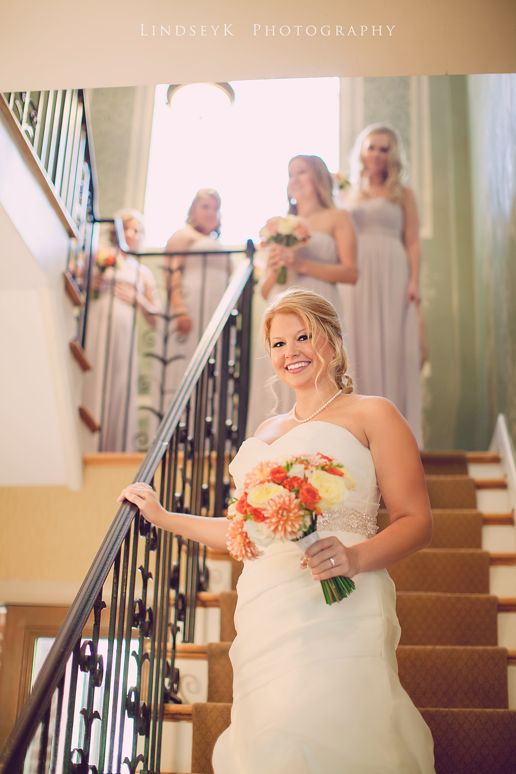 bride-coming-down-stairs