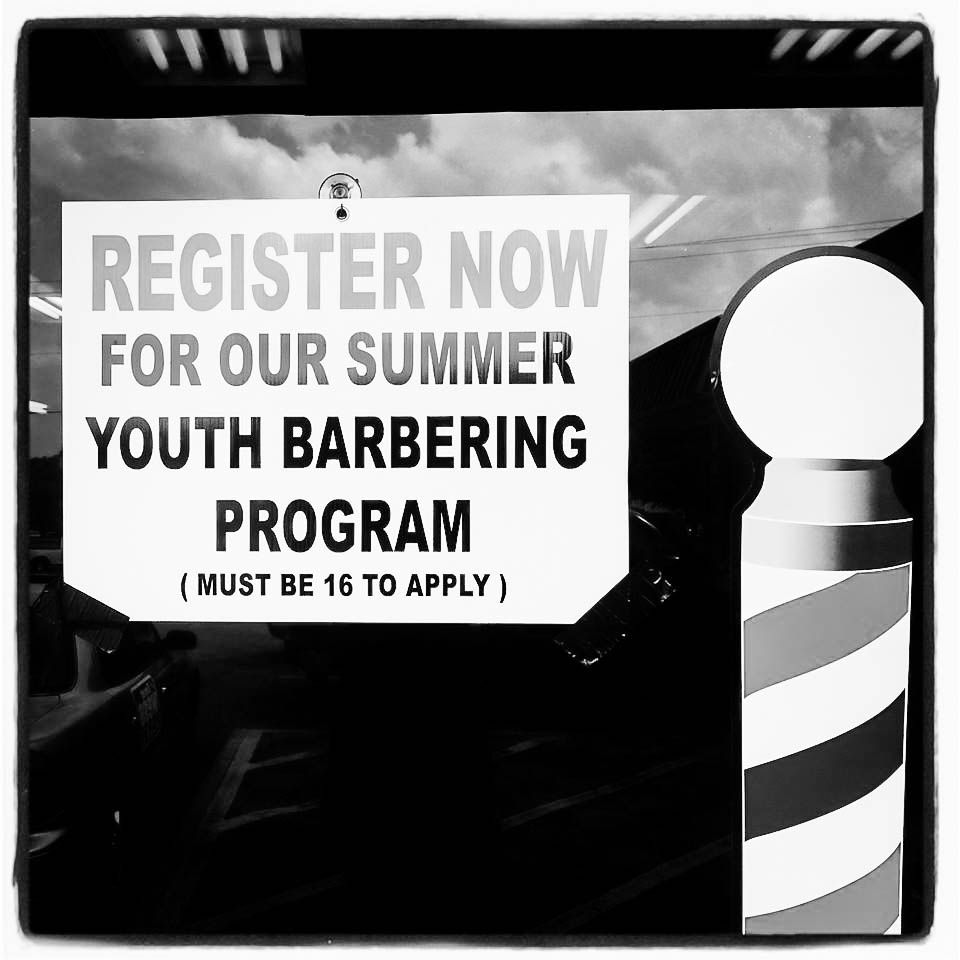 Summer Youth Barbering Programs