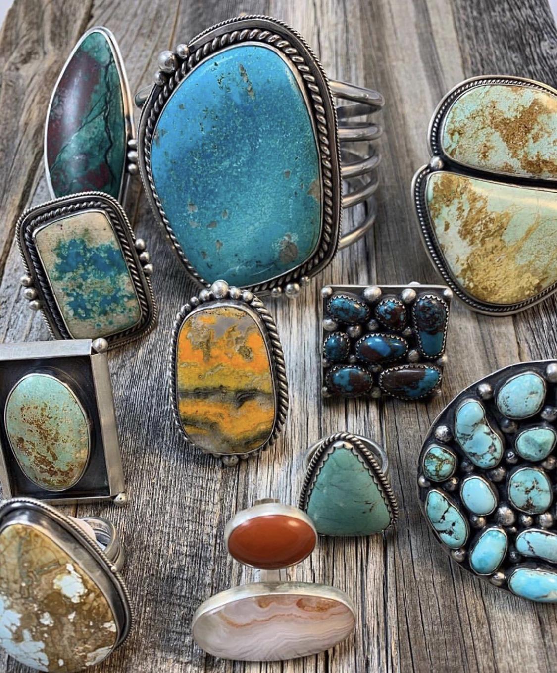 The Silver Artichoke - Fourth Generation Navajo Silversmith