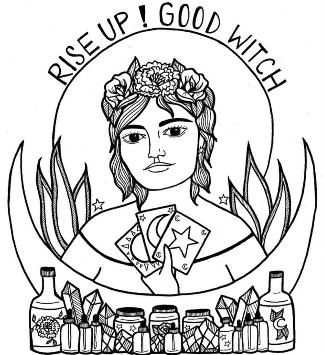 Rise Up Good Witch - Tarot Readings + Plant Witchery
