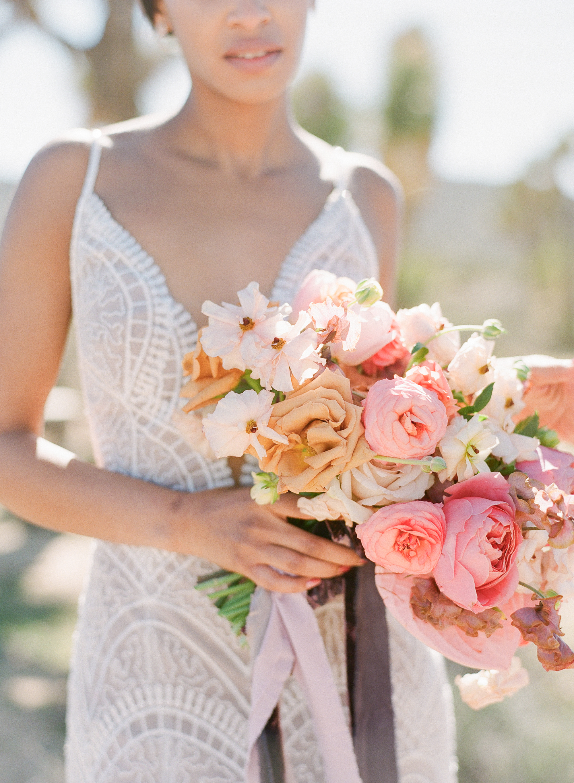 Savan Photography I Mon Amie Bridal Salon I Wtoo by Watters dress I Oak + Amble flowers