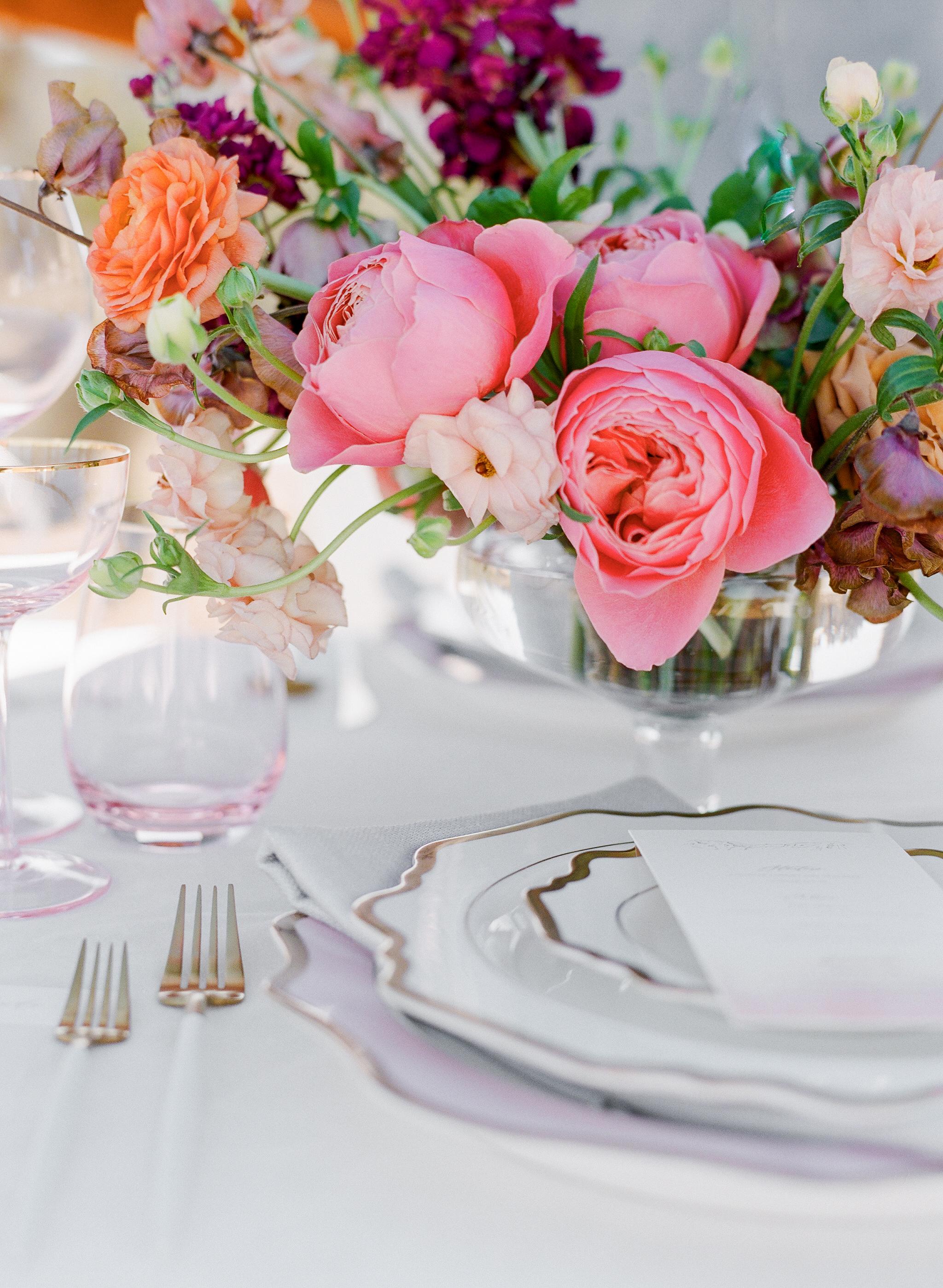 Savan Photography I Oak + Amble flowers I Foil + Ink paper goods I Signature Party Rentals table top goods I Party Crush Studio linens