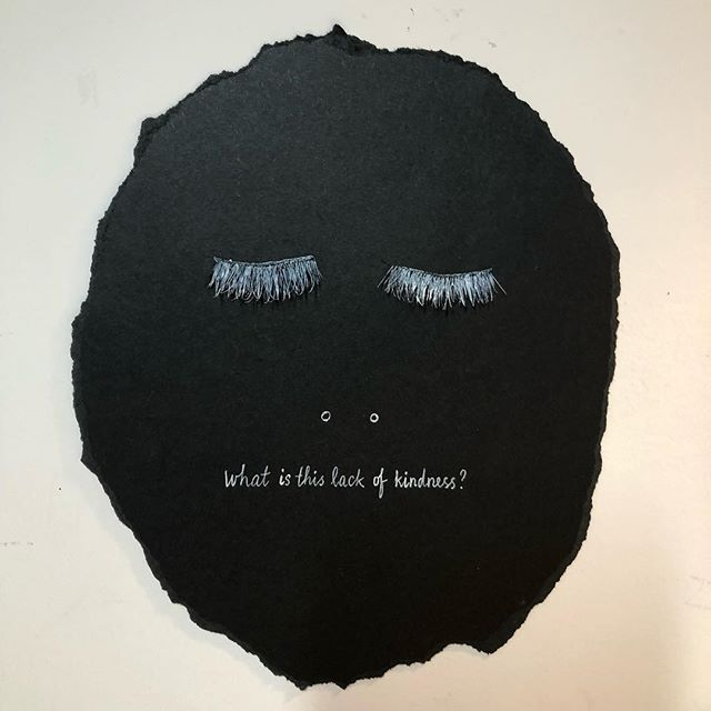Lack of kindness . . . . #newyorkart #newyorkartist #brooklynartist #visualart #contemporaryart #drawing#painting #inkpen #blackandwhite #blackandwhiteart #poem #poetry #writing#poetrycommunity #poetsofinstagram #Рисунок #kunst #Искусство #collageart