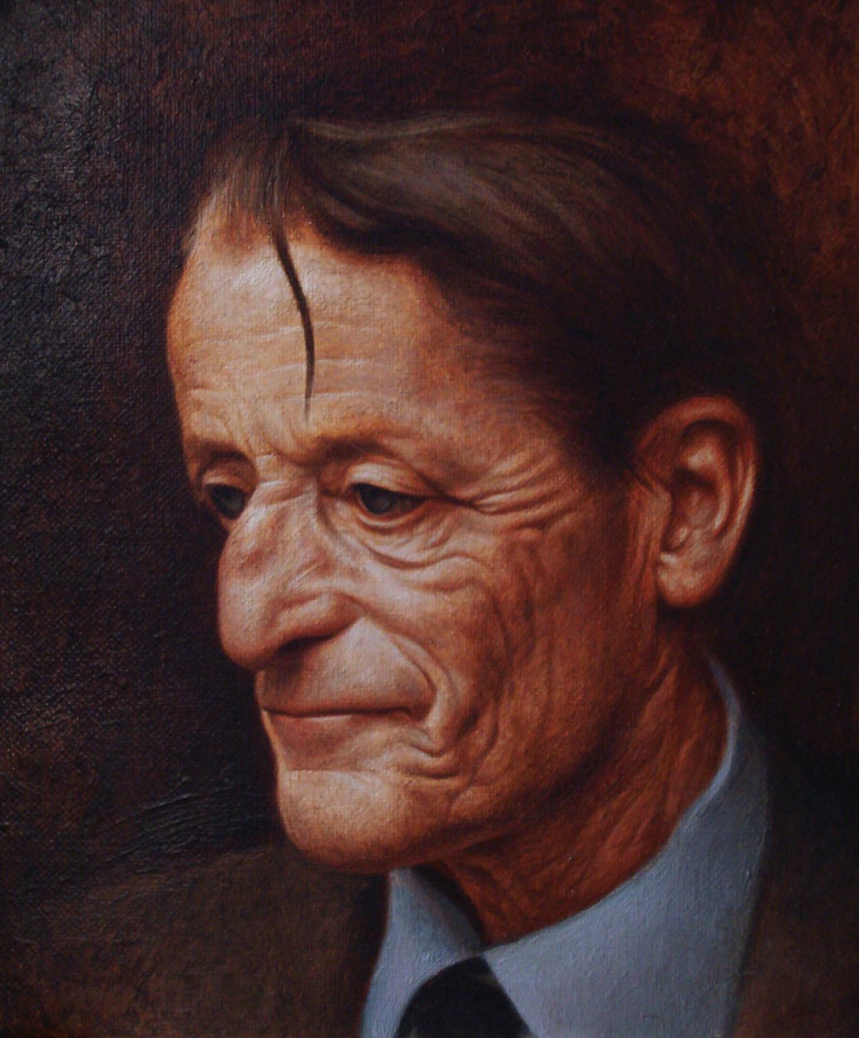 Gordon. Oil on canvas.