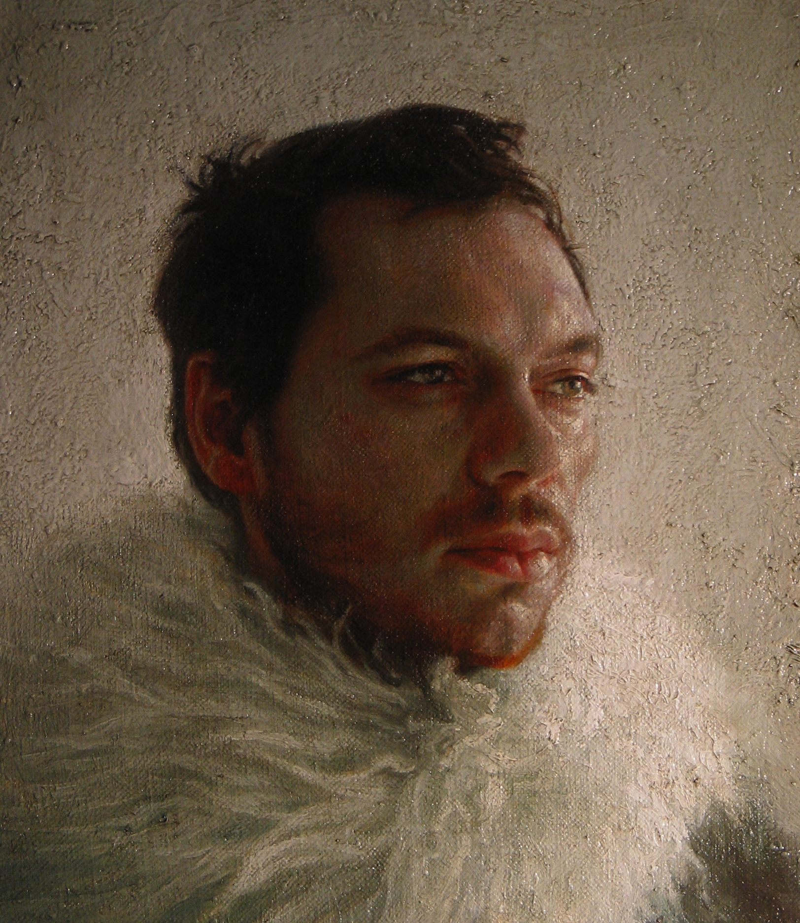 Richard. Oil on canvas.
