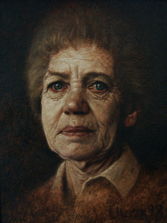 Urma. Oil on canvas.