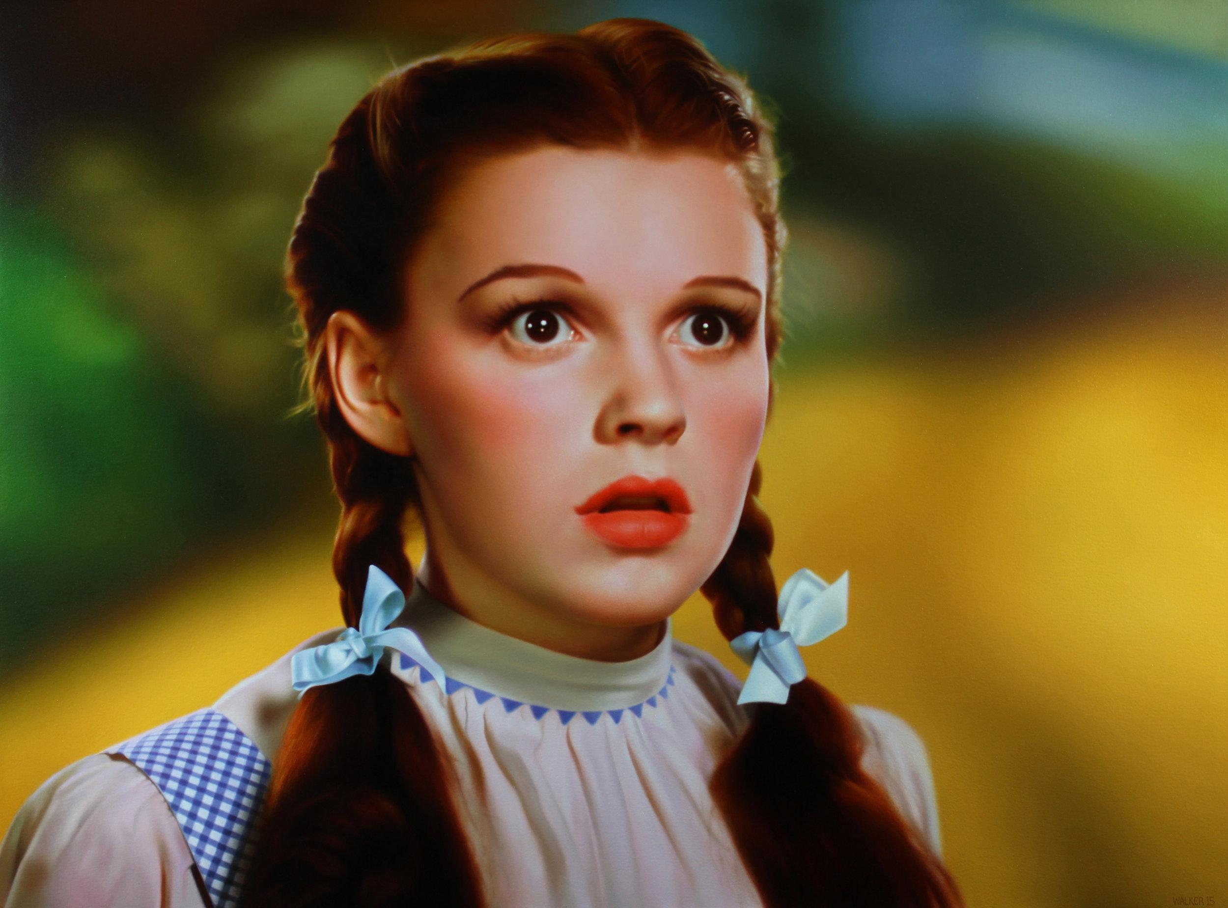 Dorothy 3, Oil on panel.