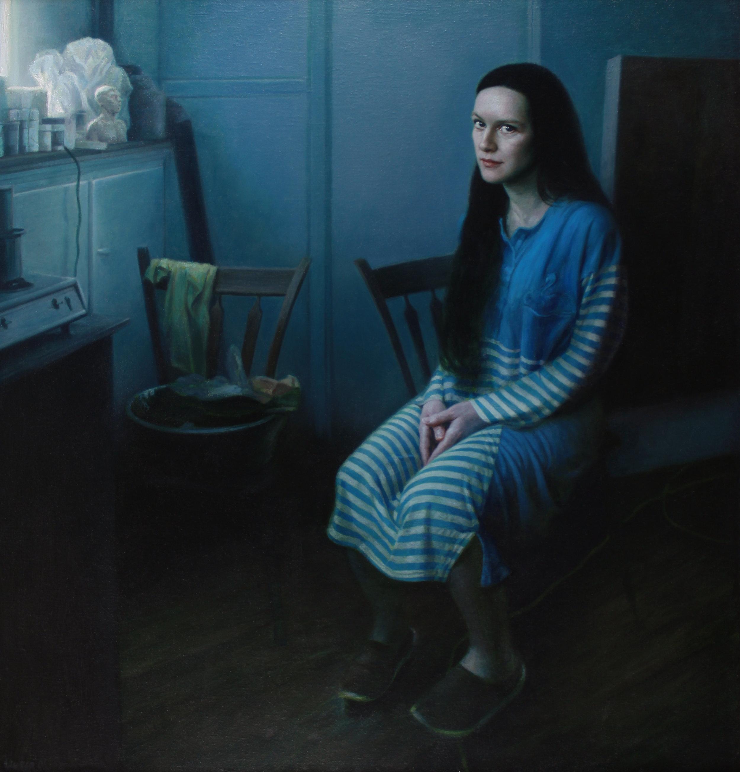 Edith. Oil on canvas.
