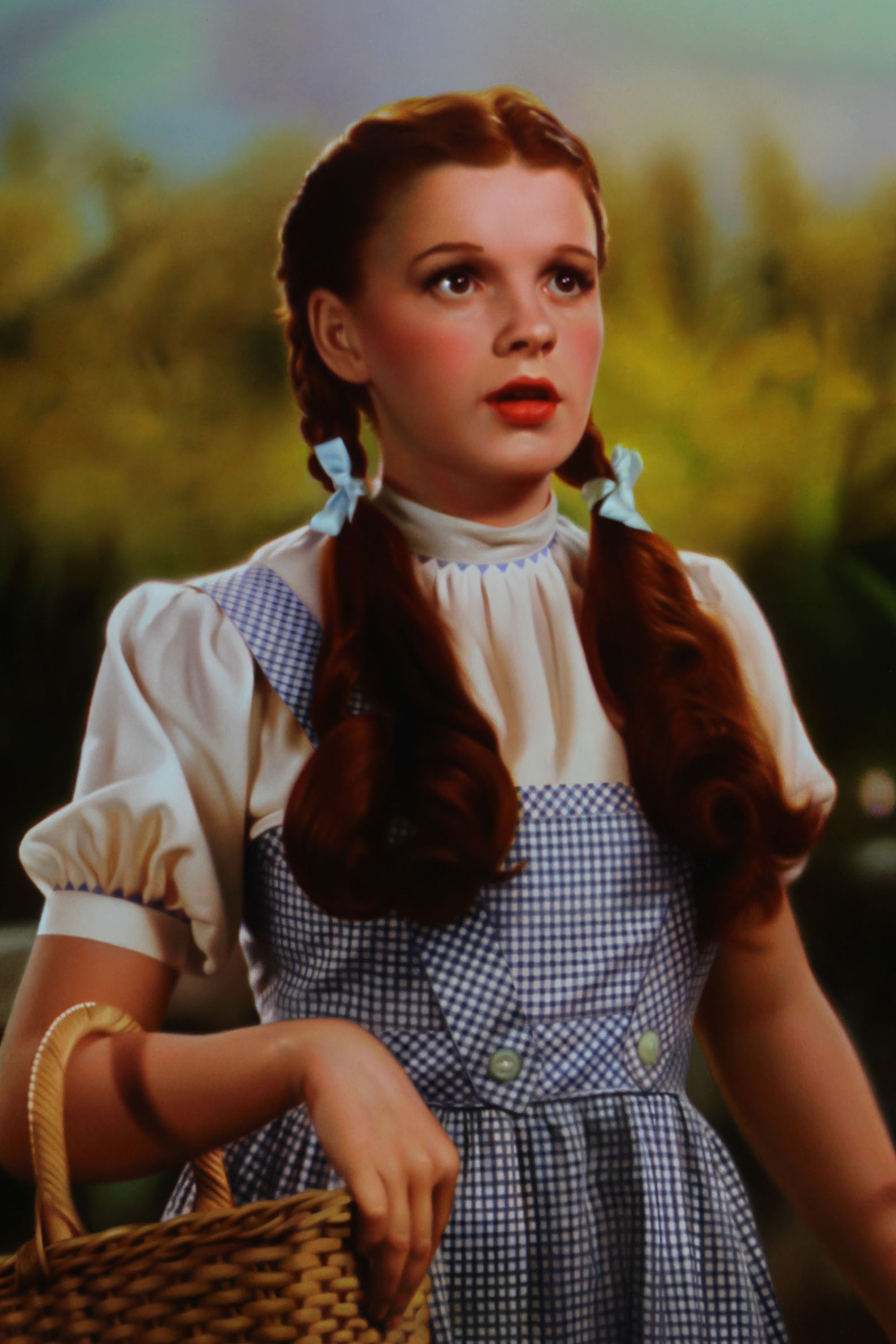 "Dorothy Gale (detail). Oil on panel. 30x50"" 2018."