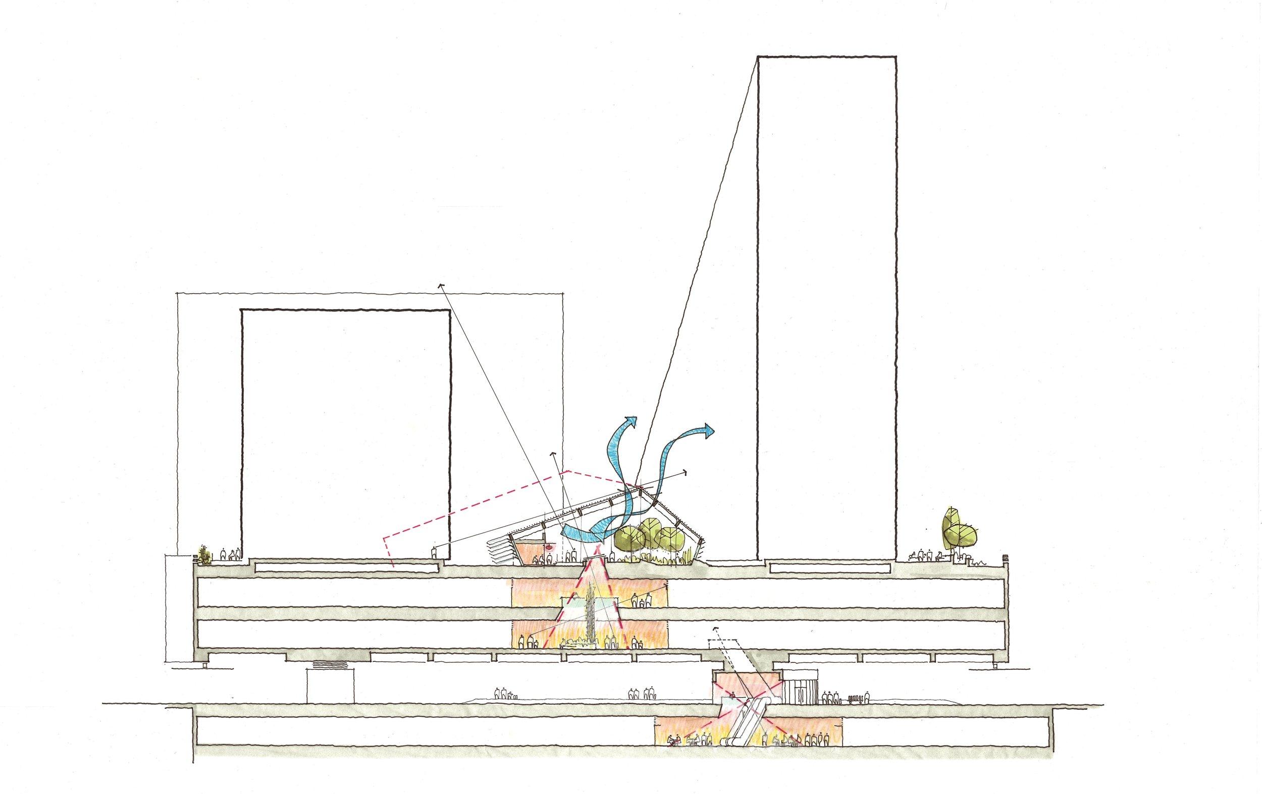 Diamond Hill Architectural Sketch