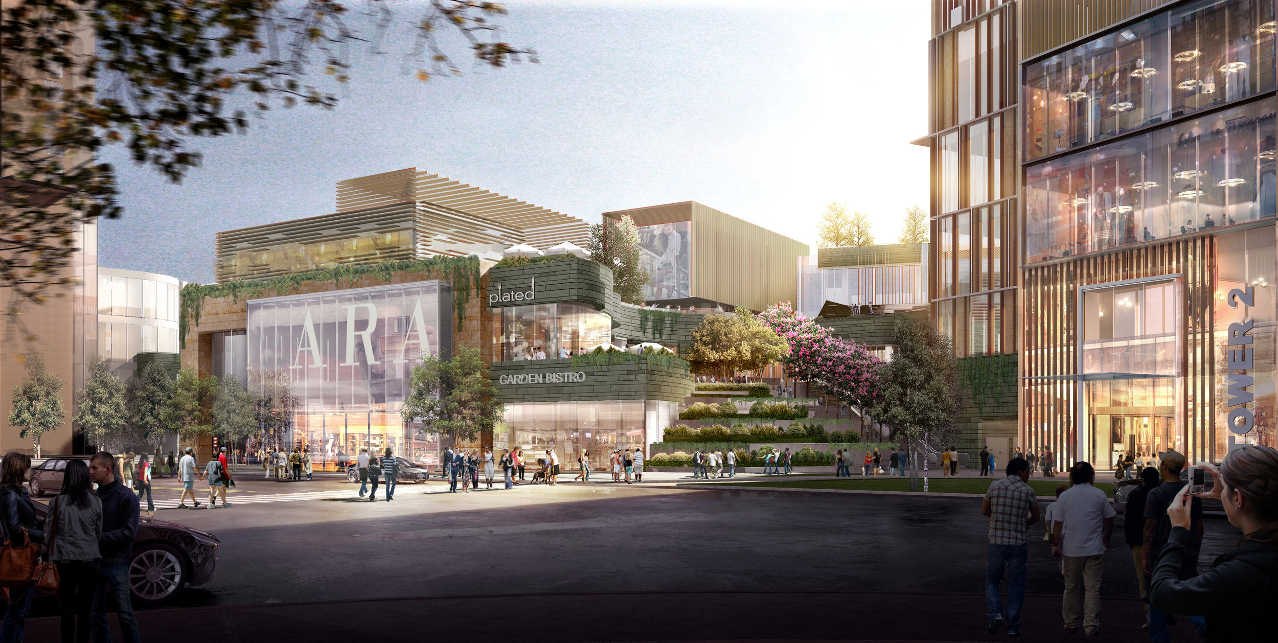 Design Rendering Wuhan Park Place