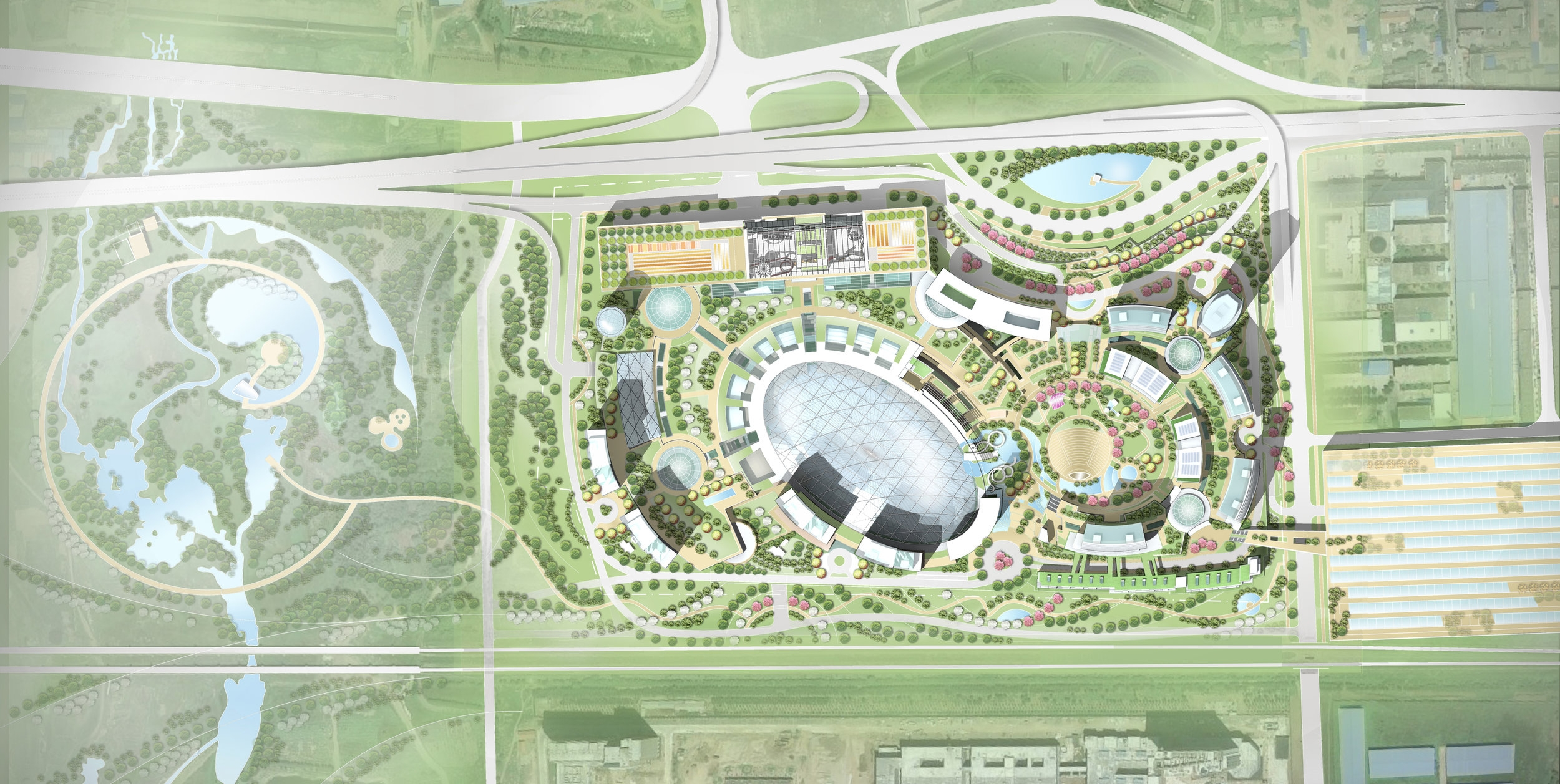Site Plan, Great Mall of China