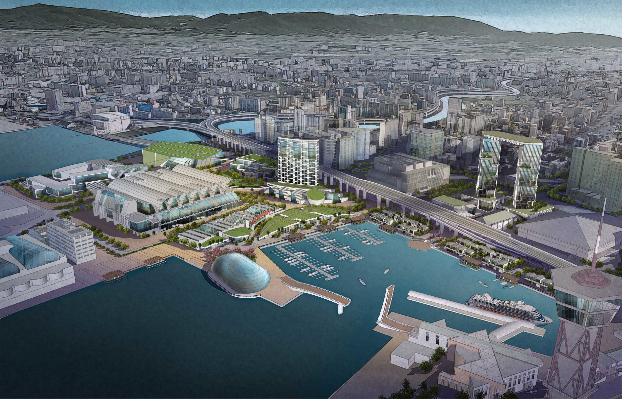 Fukuoka Waterfront Master Plan