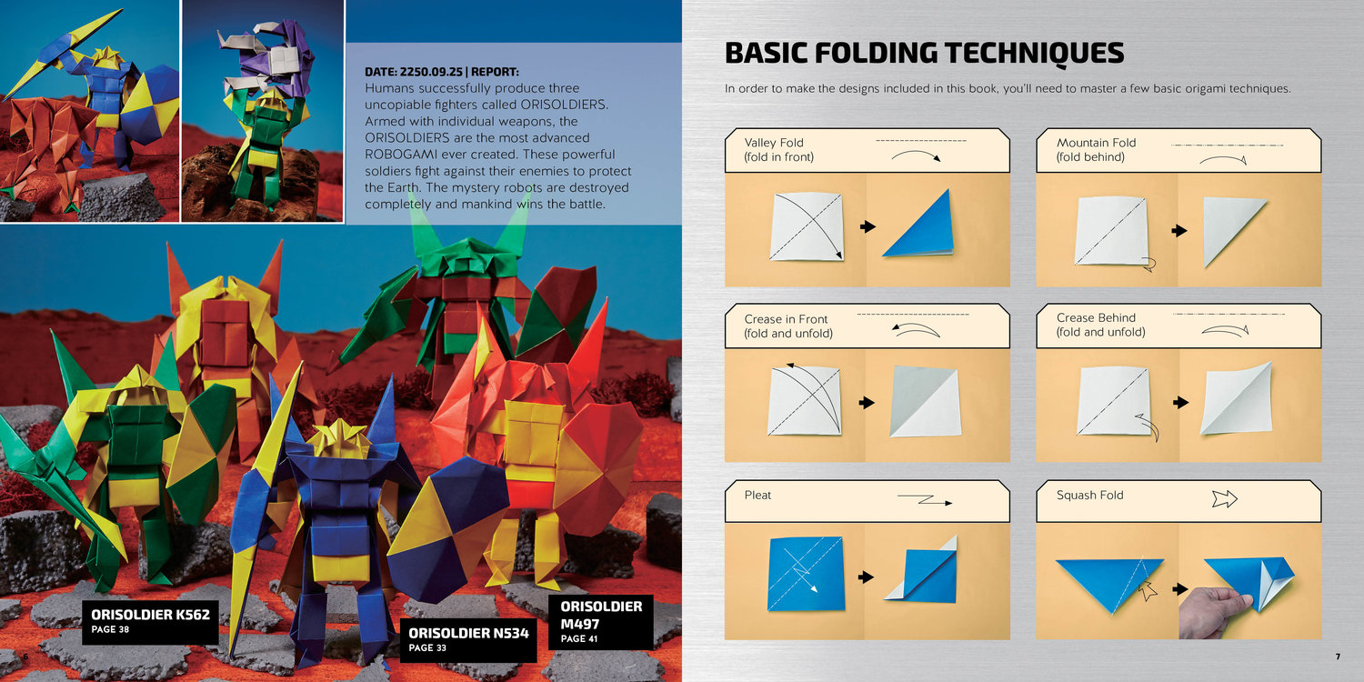 Origami 2 by Robert Harbin Book Review | Gilad's Origami Page | 750x1500
