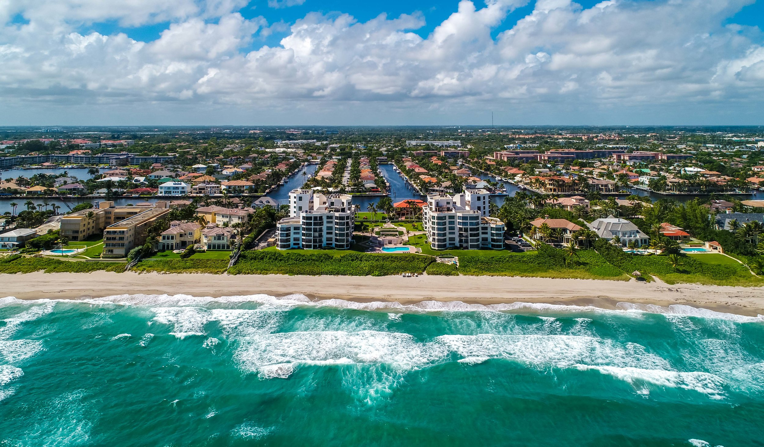 Townhouses of Highland Beach  - Amenities: Indoor Garage Parking, Fob Entry, Security, Pool, BBQ Area, Private Beach access, private park along the intracoastal across from the building, pest control