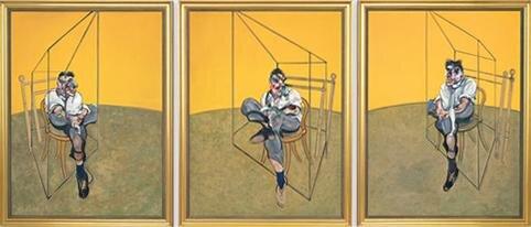 """Three Studies of Lucian Freud"" Francis Bacon, 1969"