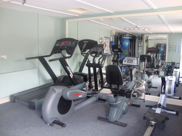Scolton's fitness suite.