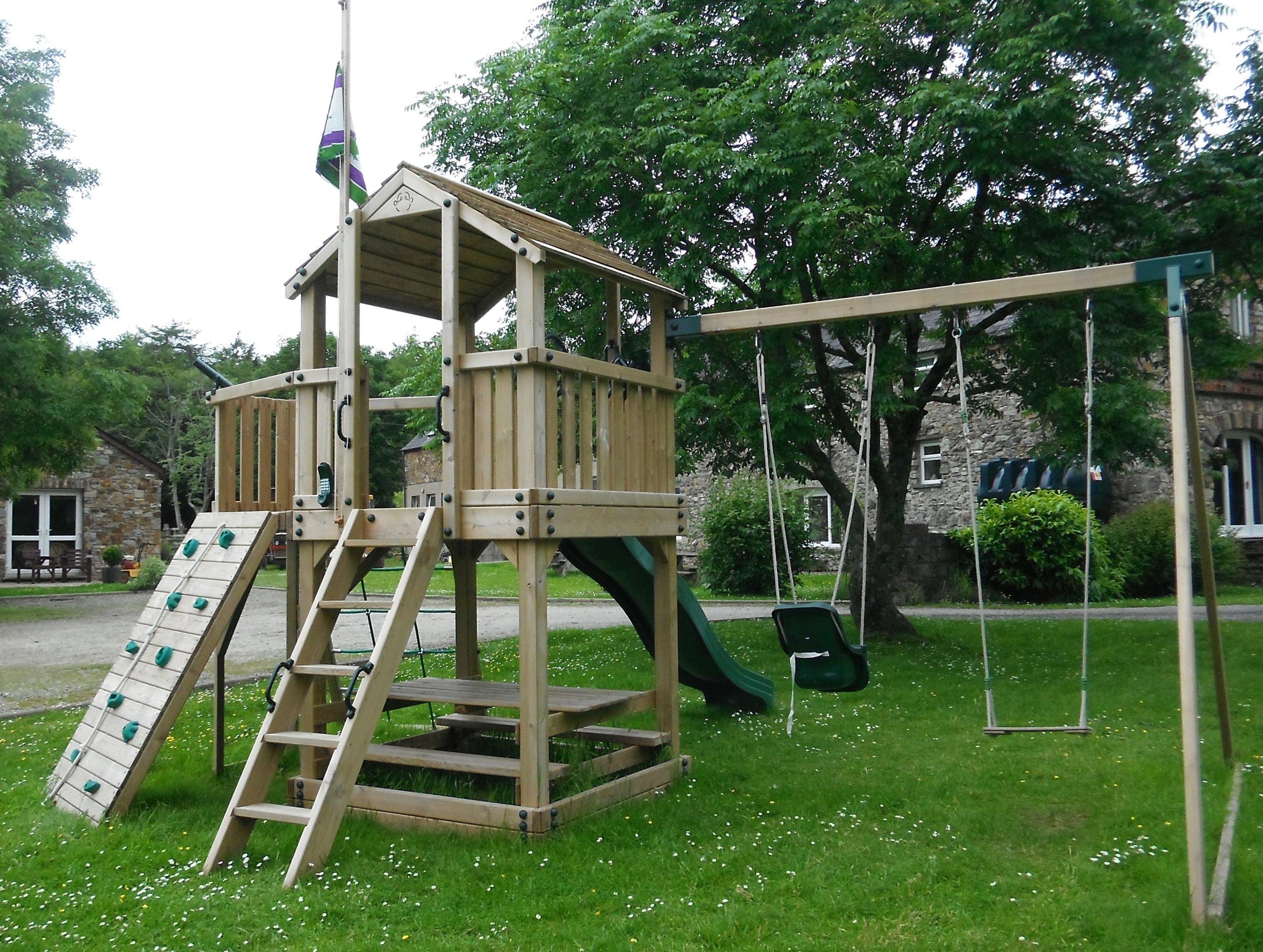 Scolton's adventure playground.