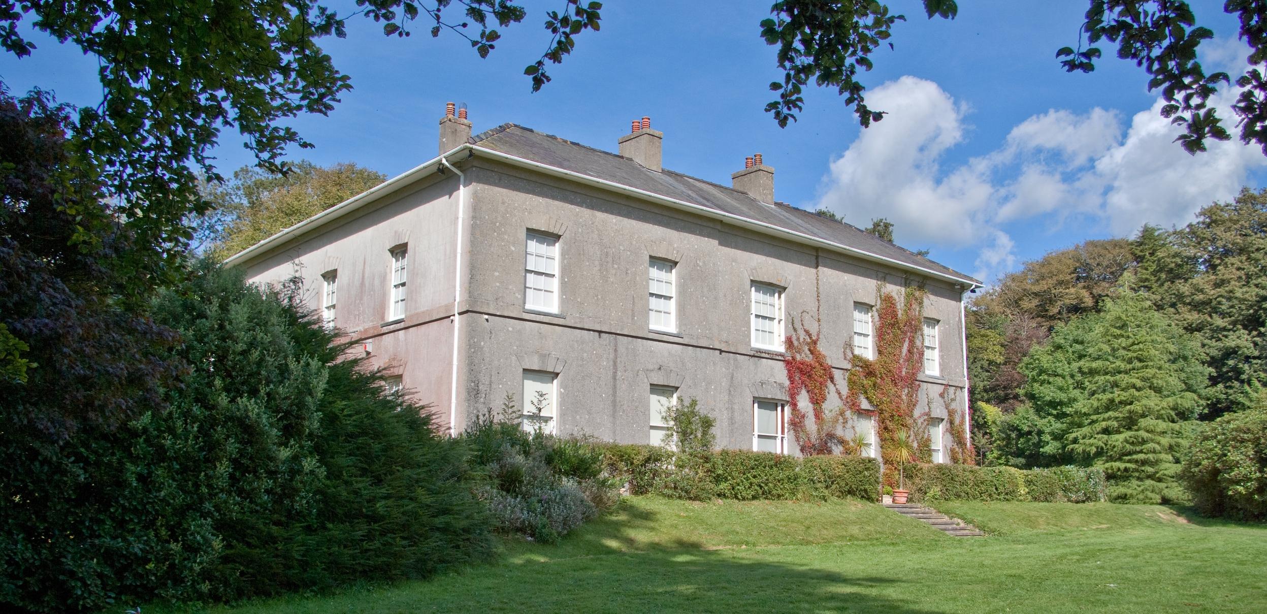 Scolton Manor.