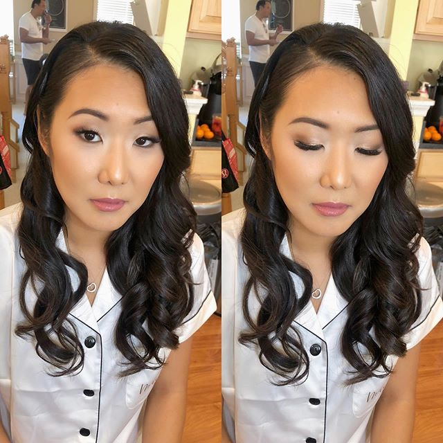 Melissa✨Soft bridal glam and waves. For inquiries and availability please visit my website www.beautybyaubrey.com . . . #beautybyaubrey #bridalupdo #bridalmakeup #dmvbride #dcbride #dmvbrides #dcmakeupartist #dchairstylist #dmvmakeupartist #dmvhairstylist #bridalhairstyle  #beautybyaubrey #dmvweddings #dmvbrides #vabride #vamakeupartist #vahairstylist