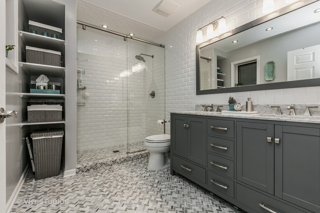 Newly renovated spa-like bathrooms are a buyers dream!