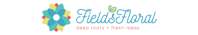 Field's Floral Flower Shop Logo Lincoln, NE