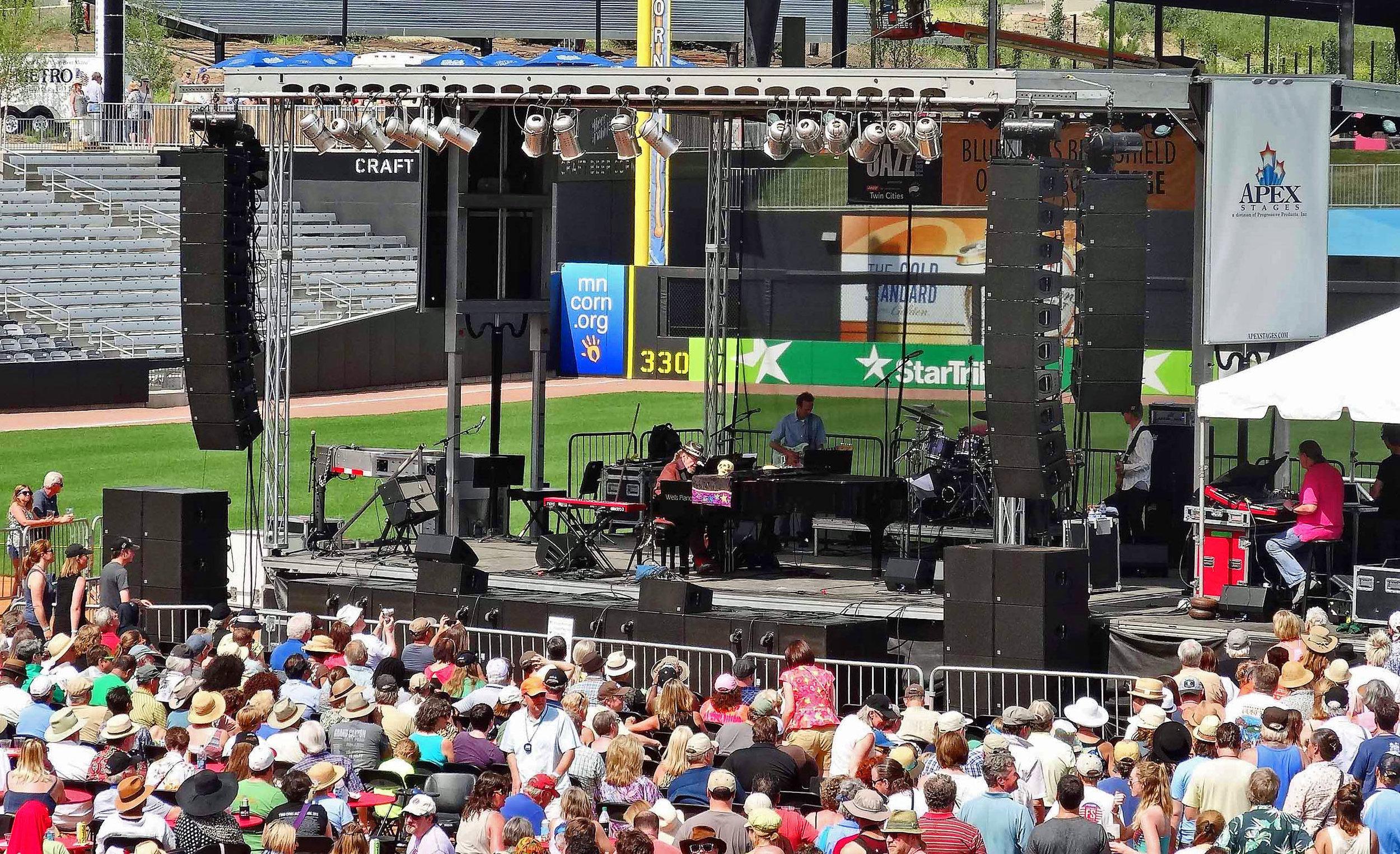 """Dr John"" - Jazz Fest at Saints Stadium"