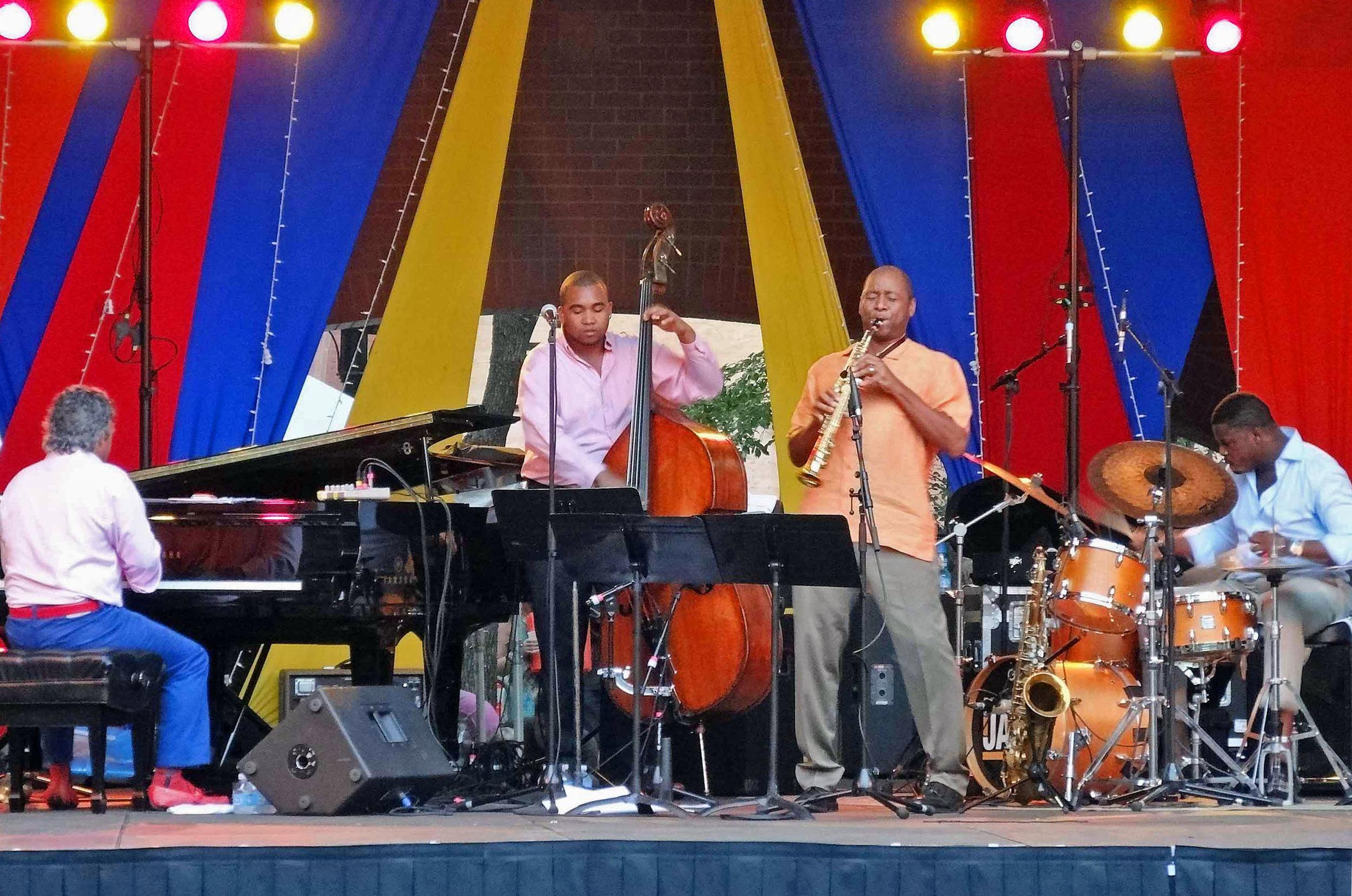 Twin Cities Jazz Fest- Mears Park St Paul Mn