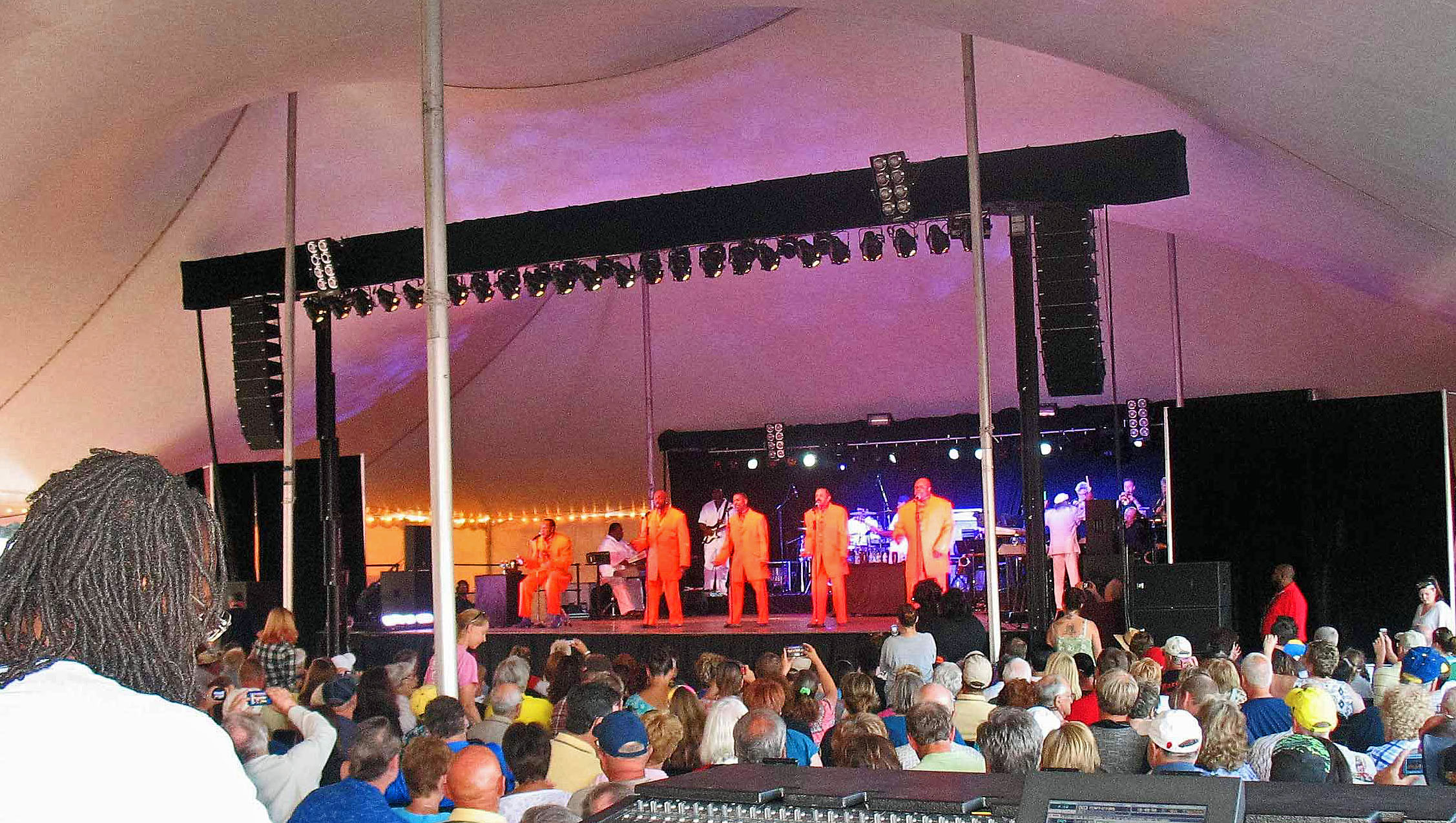 Hormel event with The Temptations