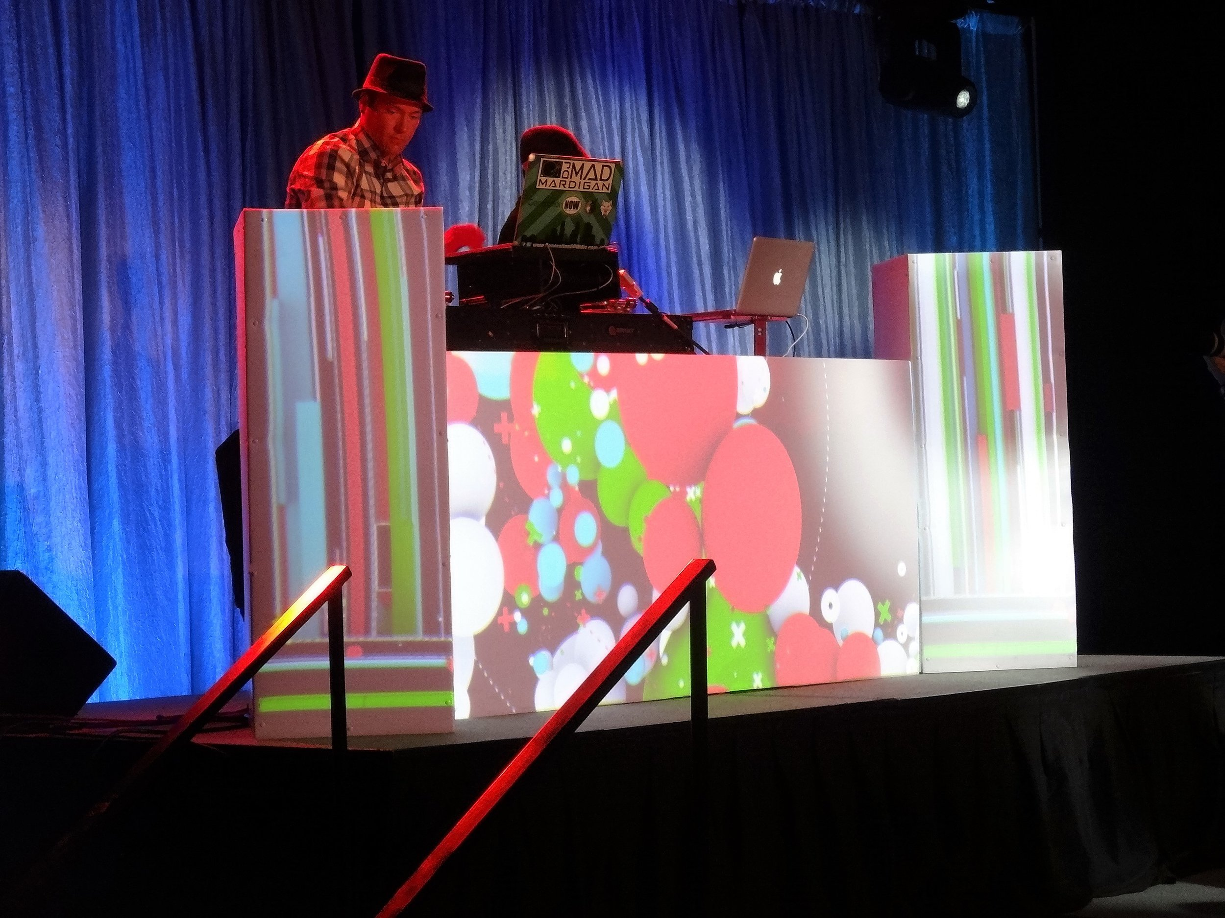 DJ Booth Video Mapping