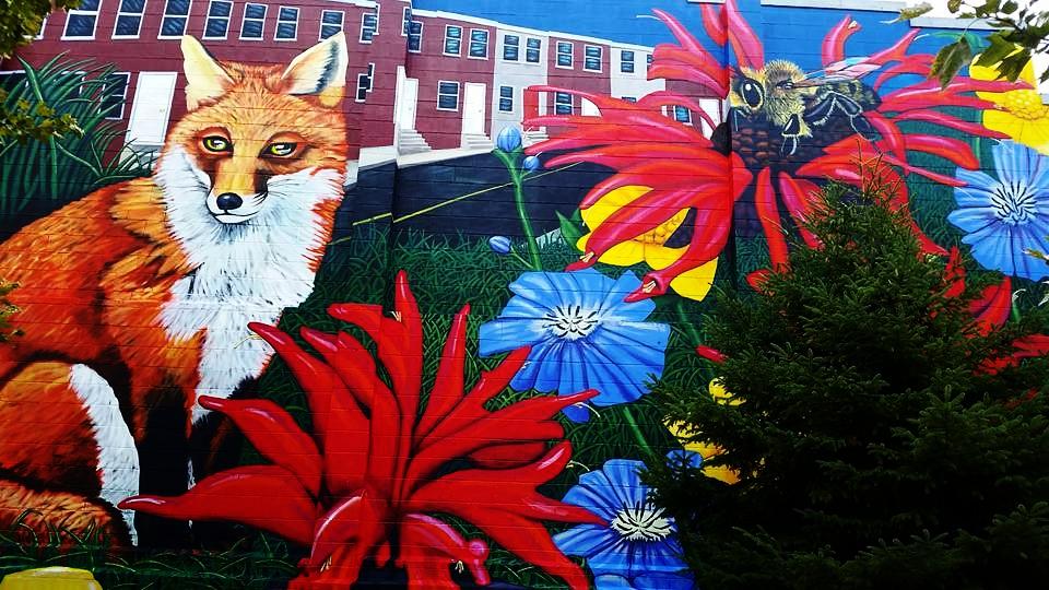 Fox Mural