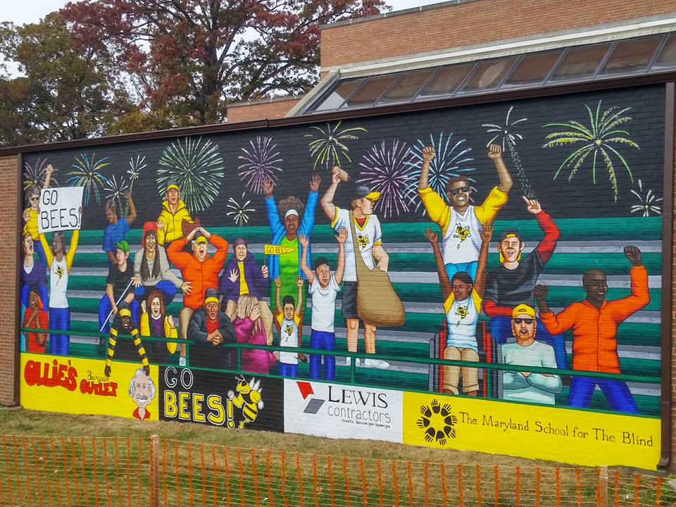 Maryland School For The Blind Mural