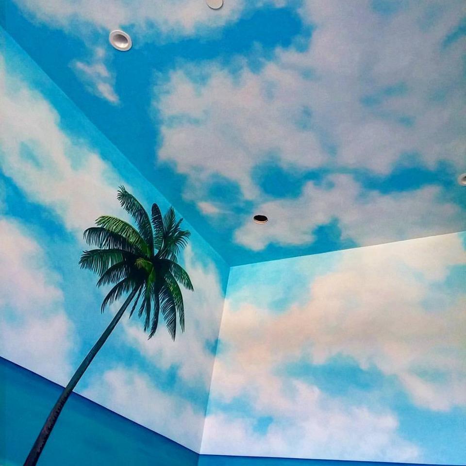 Beach bedroom Mural