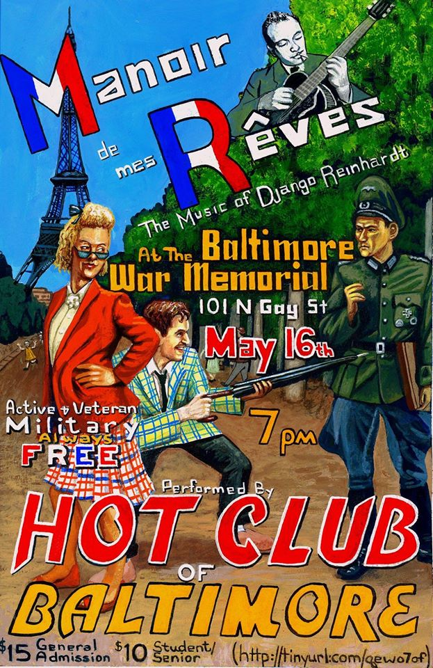 Hot Club of Baltimore Poster