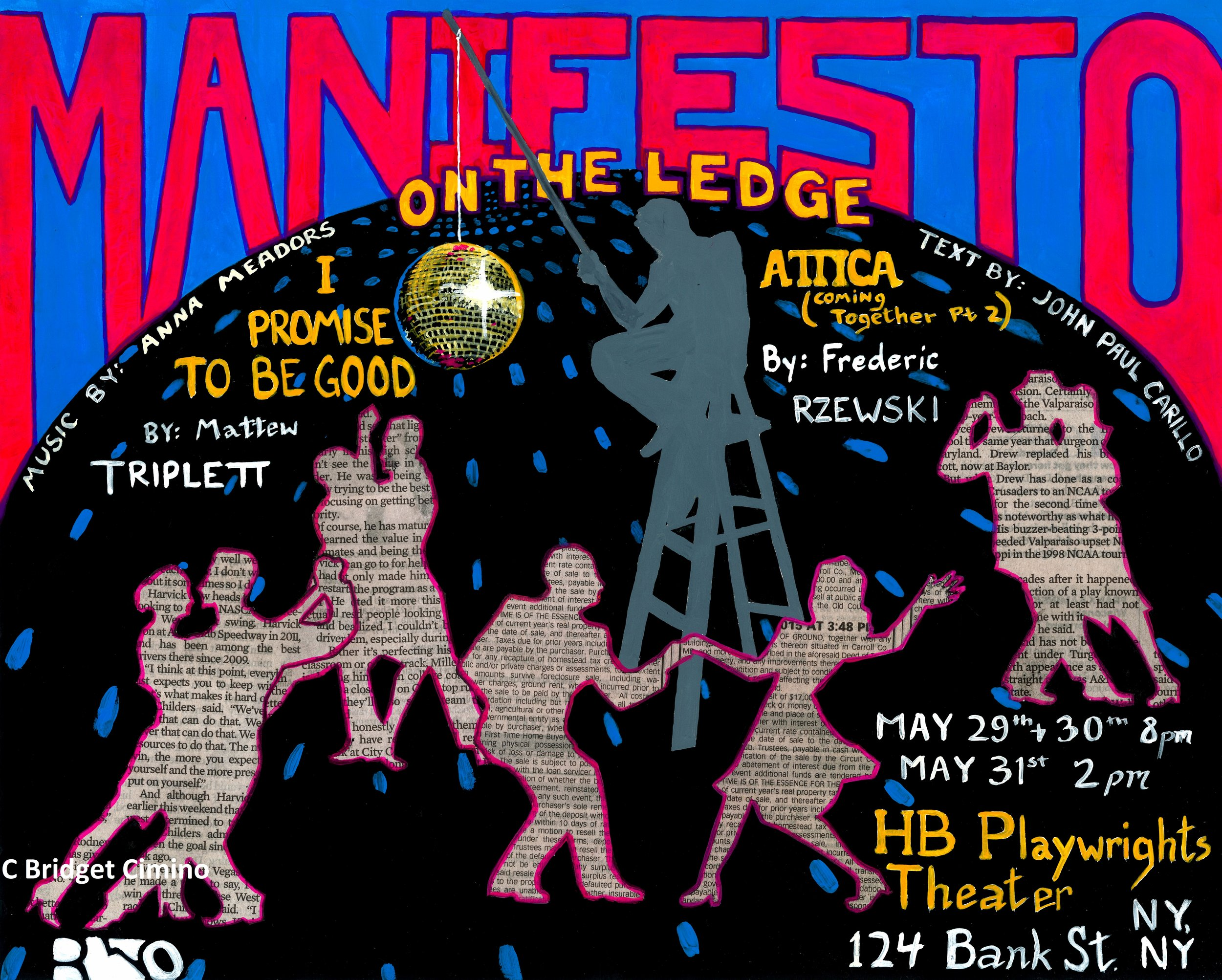 """""""Manifesto"""" poster for Rhymes with Opera"""