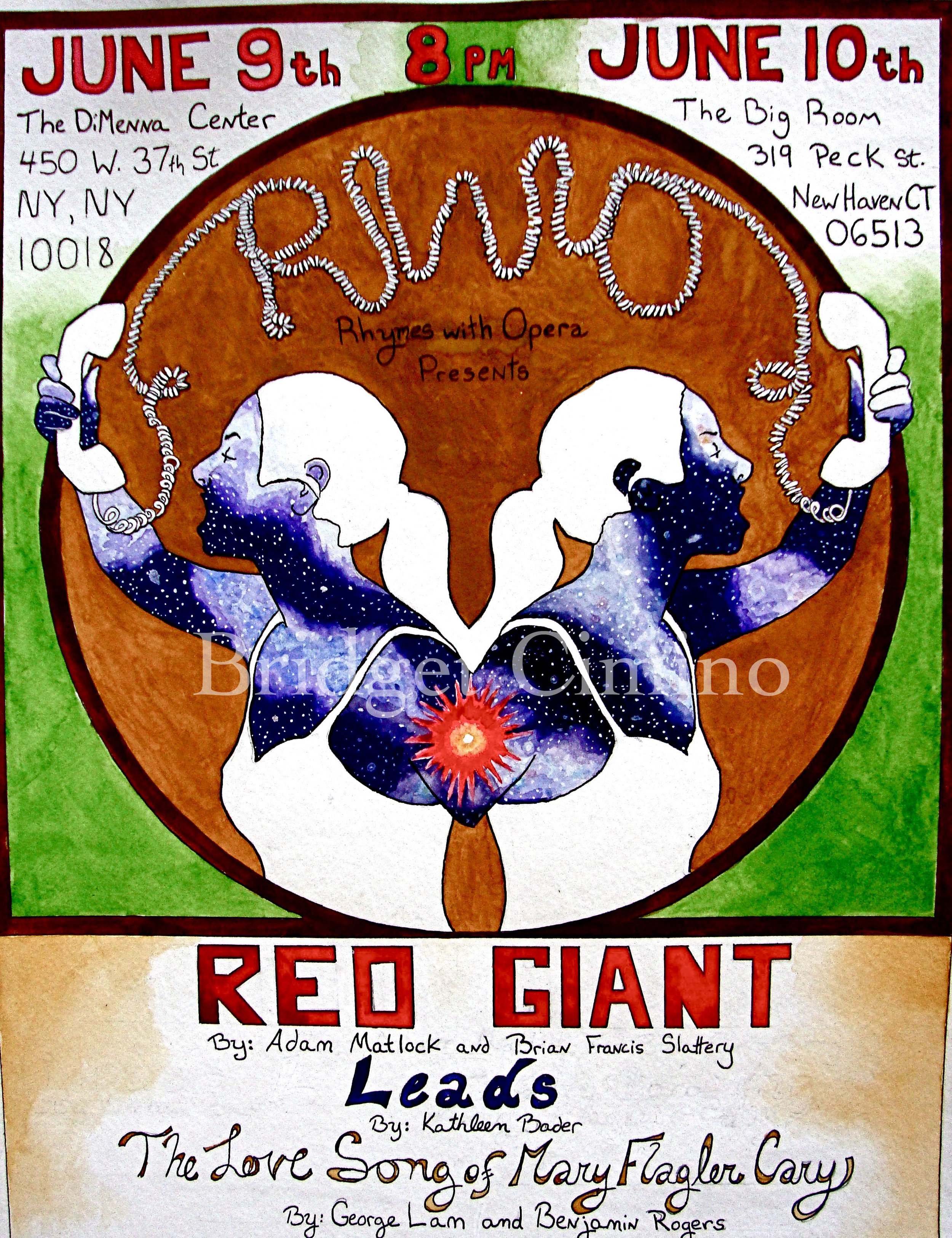 """""""Red Giant"""" Rhymes With Opera poster"""