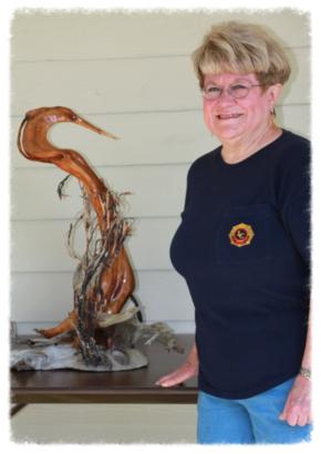 'Enchanted Heron' by Instructor Tuttie Peetz