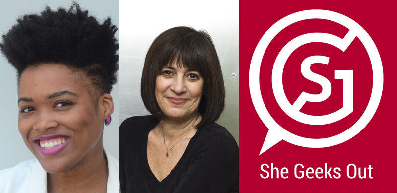 She Geeks Out Podcast: Your Branding as a Female Entrepreneur with Diane Hessan and Rica Elysee   March 7, 2017