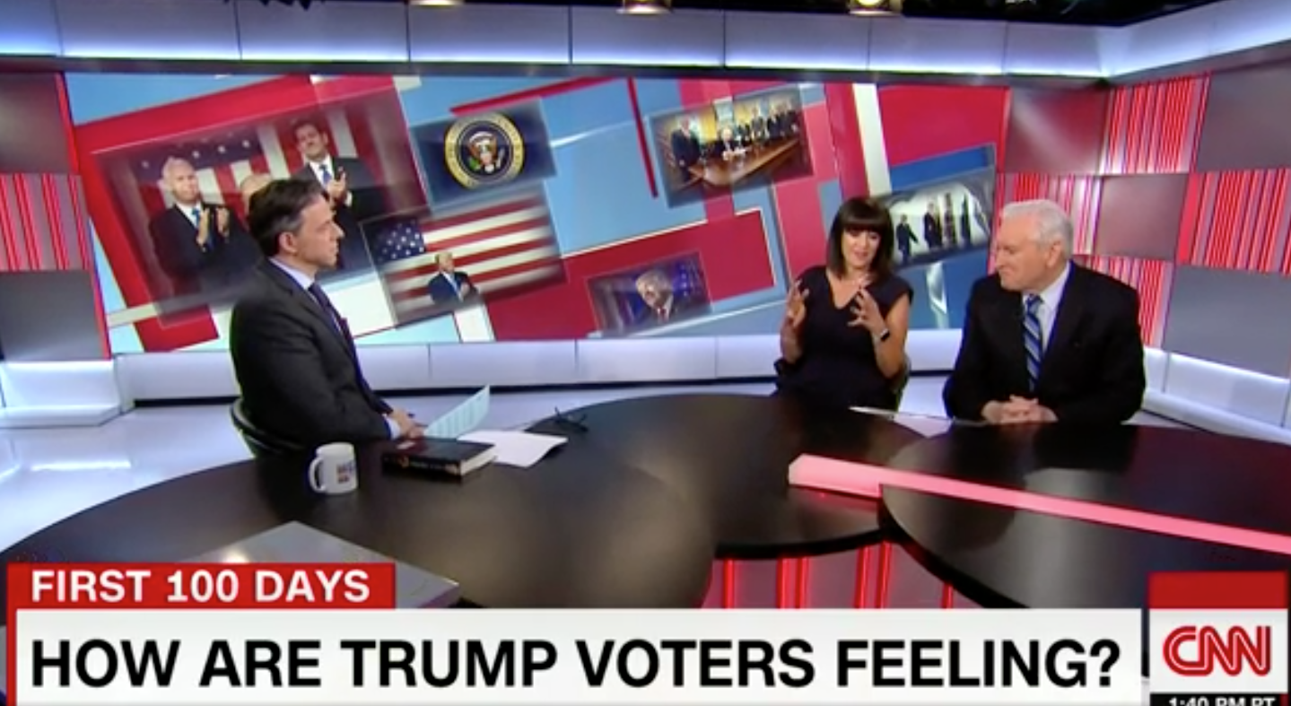 Experts on Trump, Trump voters assess last 6 weeks    March 3, 2017