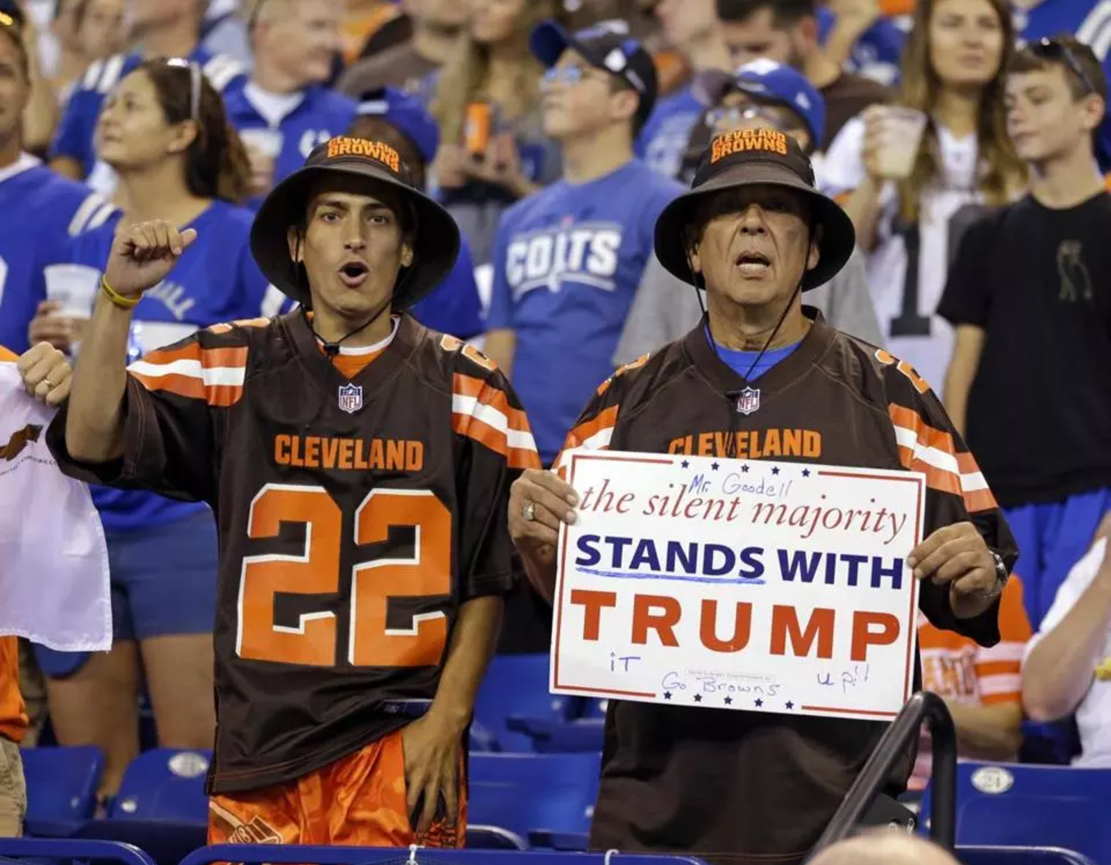 Why Trump voters want to boycott the NFL    September 28, 2017