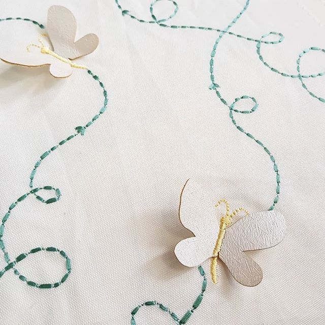 What an incredible fabric from @villanovafabric featuring 3D butterflies. We couldn't help but touch this beauty when it came into our store. Would be ideal as a drape, cushions or pelmet in your child's room. Absolutely gorgeous! #bendigo #elegantconcepts #countryvictoria #centralvictoria #drapes  #curtains #pelmet #cushions #fabric #butterfly #3d #white #children #childrensdecor #interiordecorating #interiors #bedroom #bedroomdecor #styling #style #bendigohomedecor #windowfurnishings #lovewhatwedo #supportlocal #gorgeous #creative