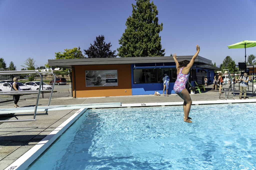 Pools Are Closed! - Bear Creek, Greenaway, Hjorth Road, Holly, Kwantlen, Port Kells, Sunnyside, and Unwin are all closed for the 2019 season as of Sept. 2nd.All pools will be reopening in Spring of 2020. Please check back later for updates on 2020 opening dates.